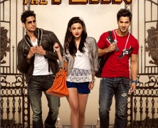 Karan Johar and the cast of Student Of the Year Upodcast Interview
