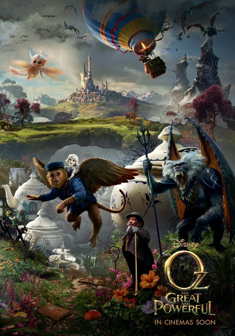 Monkey/Finley Poster: Oz The Great and Powerful