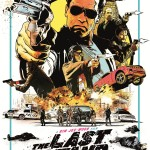 The Last Stand: Arnie's Awesome Illustrated Poster