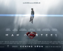 Man Of Steel Banner Posters