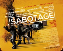 Sabotage New TV Spots: Cartels and Gunshots!