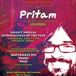 Pritam Comes to Wembley (London) and brings a bunch of friends