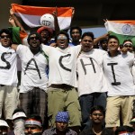 Sachin fans at Chennai 110320 Photo by Philip Brown