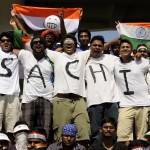 Sachin fans at Chennai 110320 Photo by Philip Brown