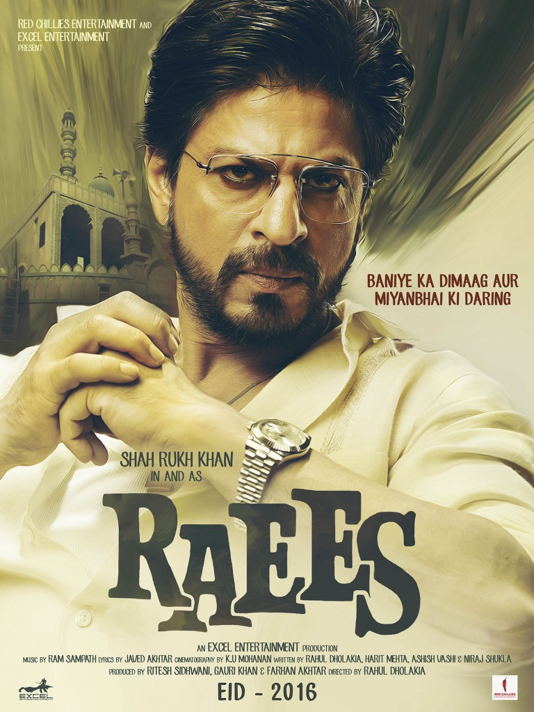 Raees Poster2