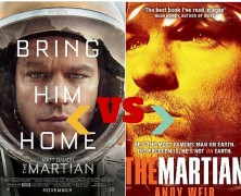 The Martian Book Vs Movie Upodcast