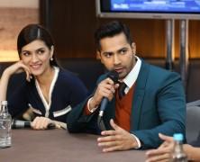 Varun Dhawan and Kriti Sanon talk Dilwale with Upodcast