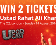 Win 2 tickets to the Ustad Rahat Ali Khan Concert at the O2, London